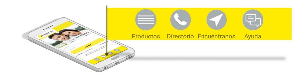 Más opciones para descubrir tu app PRESENTE