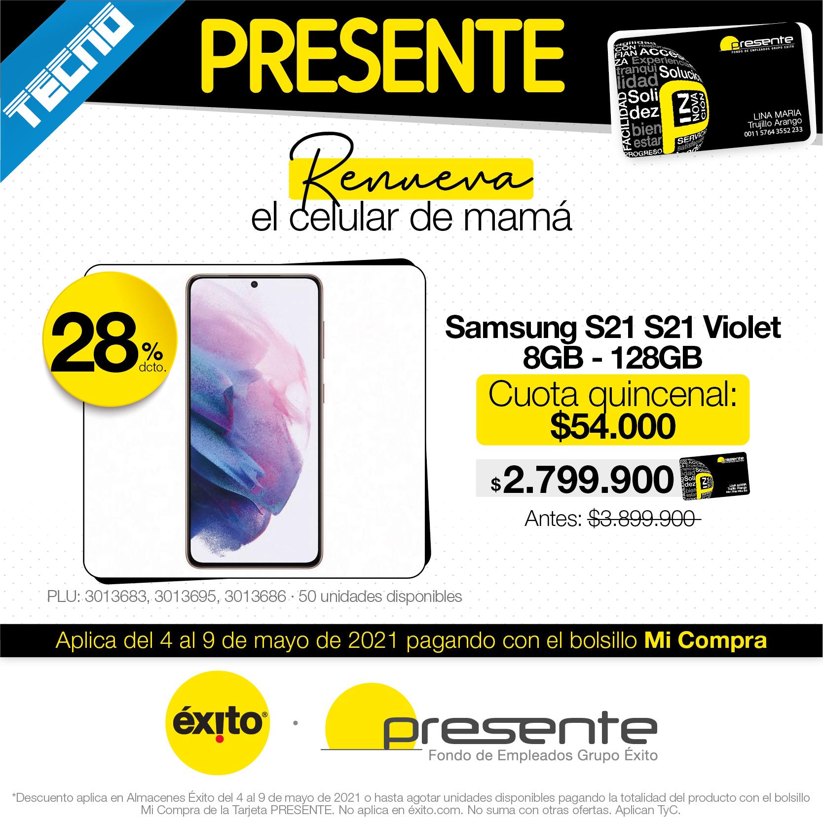 Celular Samsung S21